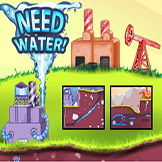 لعبة الاب المحتاج للماء