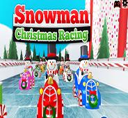 العاي سباق رجل الثلج