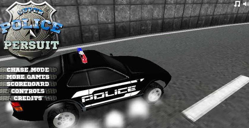 العاب مطاردة الشرطة