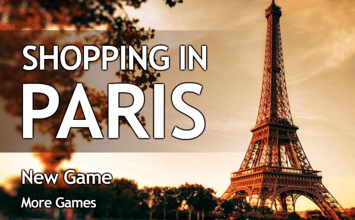 العاب تسوق في باريس