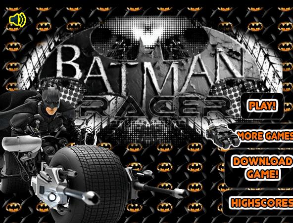 العاب سباق دراجات باتمان فوق الاسطح