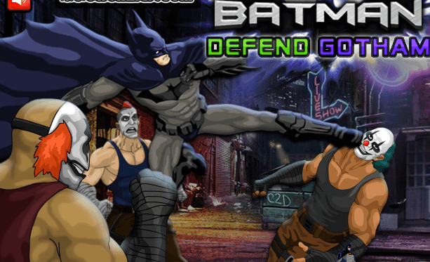 لعبة باتمان للدفاع عن الضعفاء